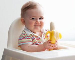 Банан грудничку