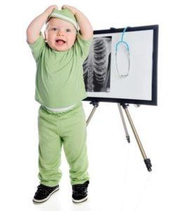 Рентген новорожденному