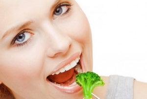 Поедание брокколи