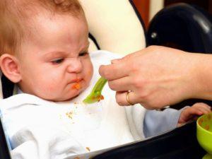 Ребёнок отказывается от прикорма