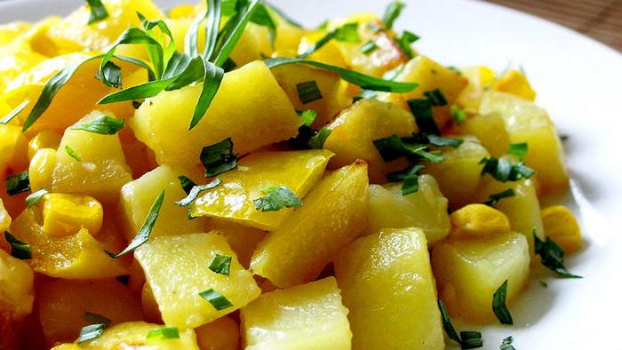 Тушеная картошка для кормящей мамы